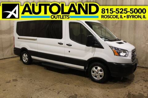 2019 Ford Transit Passenger for sale at AutoLand Outlets Inc in Roscoe IL
