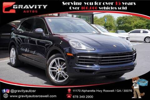 2019 Porsche Cayenne for sale at Gravity Autos Roswell in Roswell GA