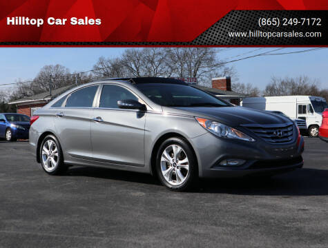 2013 Hyundai Sonata for sale at Hilltop Car Sales in Knox TN