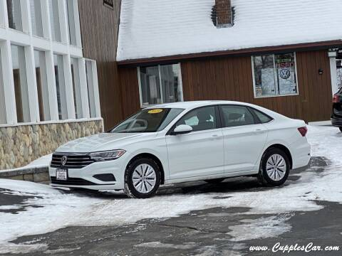 2019 Volkswagen Jetta for sale at Cupples Car Company in Belmont NH
