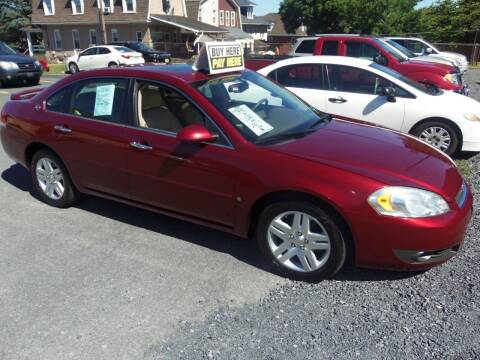 2007 Chevrolet Impala for sale at Fulmer Auto Cycle Sales - Fulmer Auto Sales in Easton PA