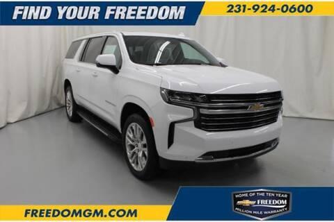 Chevrolet Suburban For Sale In Fremont Mi Freedom Chevrolet Inc