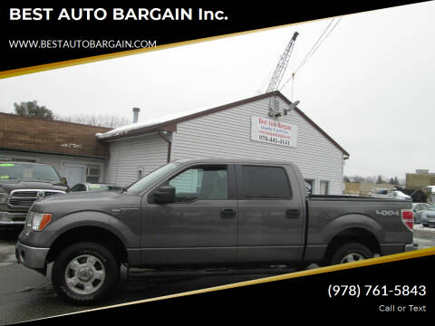 2011 Ford F-150 for sale at BEST AUTO BARGAIN inc. in Lowell MA
