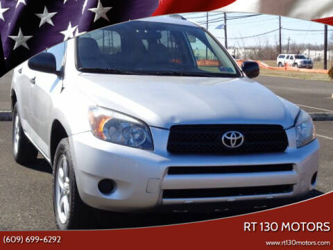 2007 Toyota RAV4 for sale at RT 130 Motors in Burlington NJ