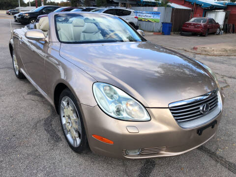 2004 Lexus SC 430 for sale at PRESTIGE AUTOPLEX LLC in Austin TX