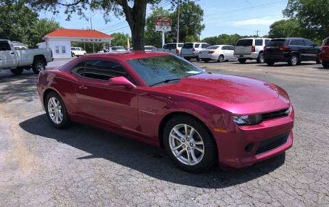 2014 Chevrolet Camaro for sale at Jack Foster Used Cars LLC in Honea Path SC