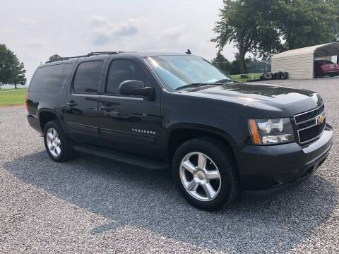 2012 Chevrolet Suburban for sale at RAYMOND TAYLOR AUTO SALES in Fort Gibson OK