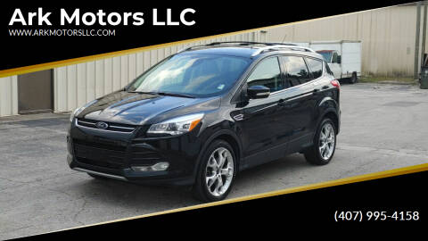 2013 Ford Escape for sale at Ark Motors LLC in Winter Springs FL
