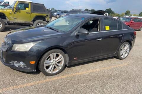 2011 Chevrolet Cruze for sale at MICHAEL J'S AUTO SALES in Cleves OH