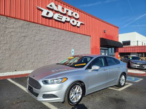 2015 Ford Fusion for sale at Auto Depot - Madison in Madison TN