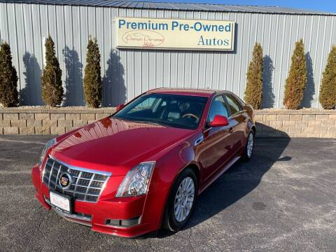 2012 Cadillac CTS for sale at PREMIUM PRE-OWNED AUTOS in East Peoria IL