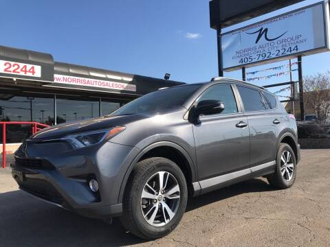 2017 Toyota RAV4 for sale at NORRIS AUTO SALES in Oklahoma City OK
