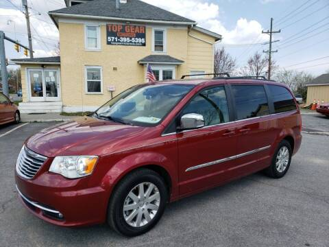 2012 Chrysler Town and Country for sale at Top Gear Motors in Winchester VA