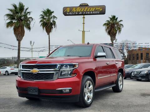 2015 Chevrolet Tahoe for sale at A MOTORS SALES AND FINANCE in San Antonio TX