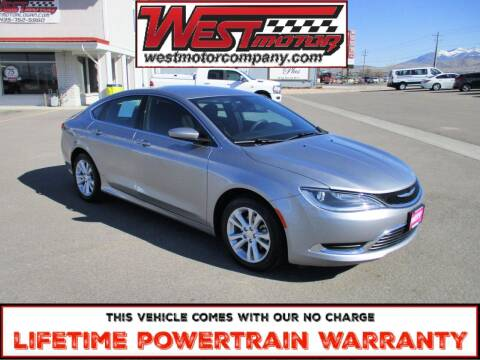 2016 Chrysler 200 for sale at West Motor Company in Preston ID