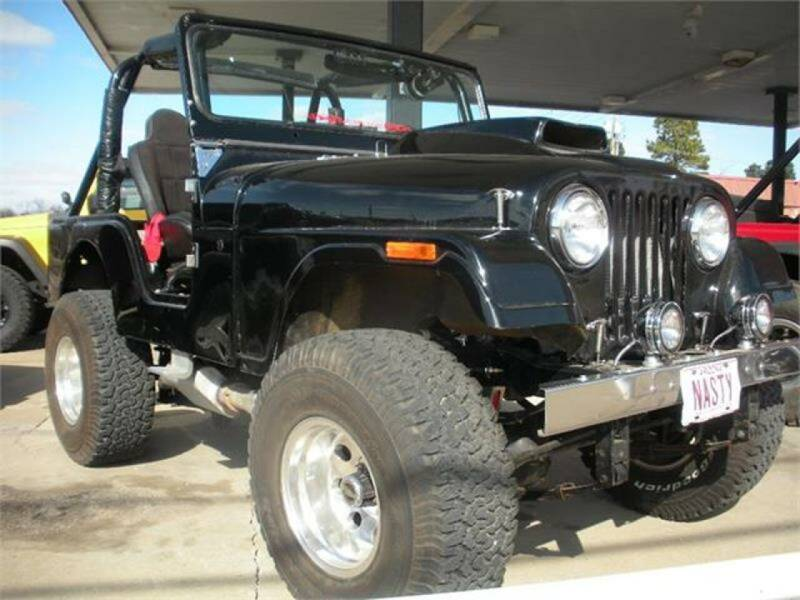 1974 American Motors CJ-5 for sale at Broken Arrow Motor Co in Broken Arrow OK