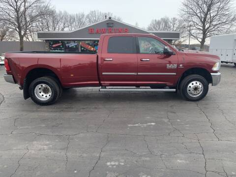 2014 RAM Ram Pickup 3500 for sale at Hawkins Motors Sales in Hillsdale MI