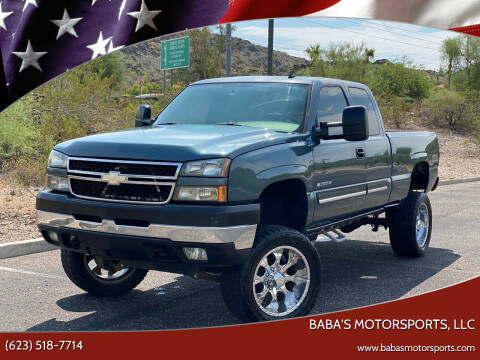2006 Chevrolet Silverado 2500HD for sale at Baba's Motorsports, LLC in Phoenix AZ