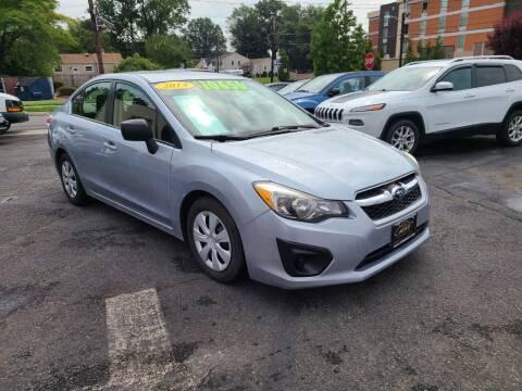2014 Subaru Impreza for sale at Costas Auto Gallery in Rahway NJ