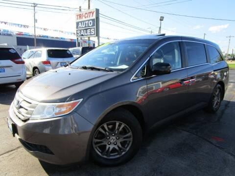 2011 Honda Odyssey for sale at TRI CITY AUTO SALES LLC in Menasha WI