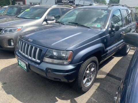 2004 Jeep Grand Cherokee for sale at Park Avenue Auto Lot Inc in Linden NJ