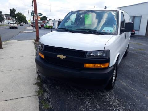2018 Chevrolet Express Cargo for sale at Automotive Fleet Sales in Lemoyne PA