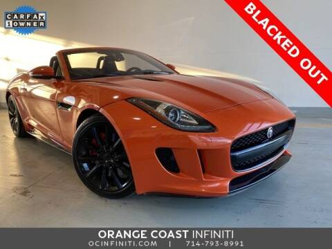2017 Jaguar F-TYPE for sale at ORANGE COAST CARS in Westminster CA