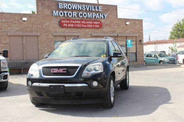 2010 GMC Acadia for sale at Brownsville Motor Company in Brownsville TX