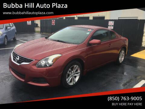 2013 Nissan Altima for sale at Bubba Hill Auto Plaza in Panama City FL