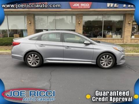 2016 Hyundai Sonata for sale at JOE RICCI AUTOMOTIVE in Clinton Township MI