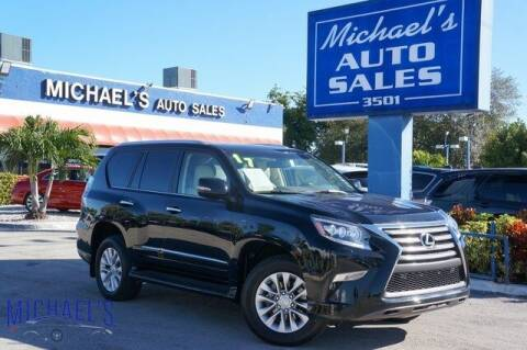 2017 Lexus GX 460 for sale at Michael's Auto Sales Corp in Hollywood FL