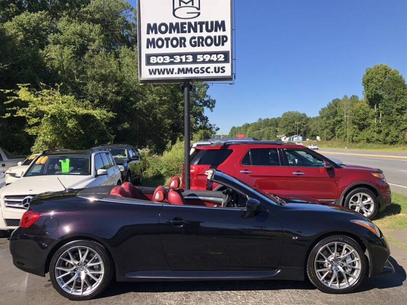2014 Infiniti Q60 Convertible for sale at Momentum Motor Group in Lancaster SC