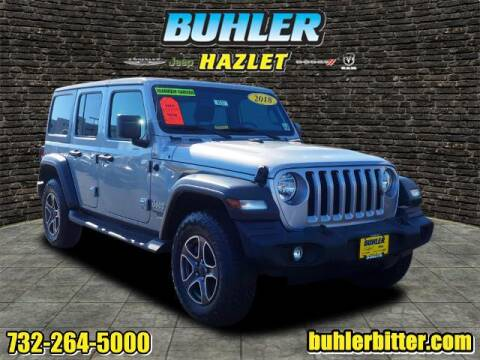 2018 Jeep Wrangler Unlimited for sale at Buhler and Bitter Chrysler Jeep in Hazlet NJ