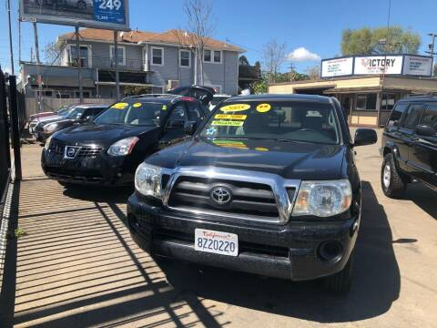 2005 Toyota Tacoma for sale at Victory Auto Sales in Stockton CA