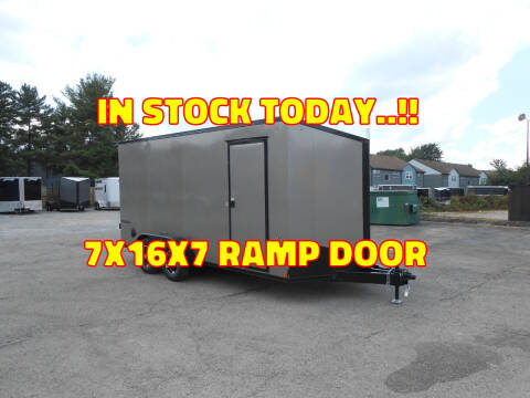 2022 Formula Triumph 7x16 for sale at Jerry Moody Auto Mart - Trailers in Jeffersontown KY