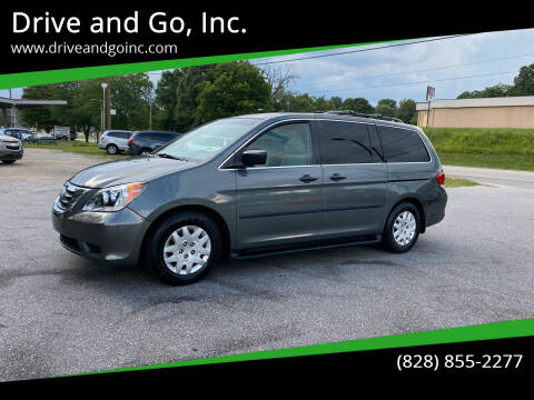 2008 Honda Odyssey for sale at Drive and Go, Inc. in Hickory NC