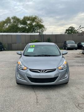 2015 Hyundai Elantra for sale at SOUTHWAY MOTORS in Houston TX