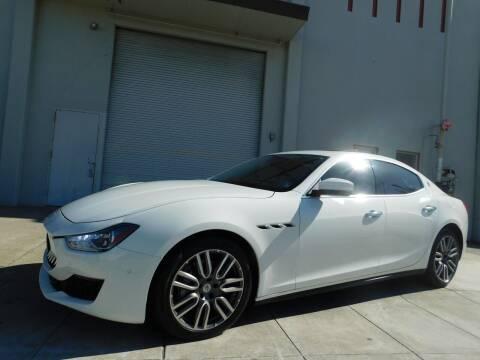 2018 Maserati Ghibli for sale at Conti Auto Sales Inc in Burlingame CA