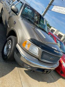 2001 Ford F-150 for sale at Bob Luongo's Auto Sales in Fall River MA