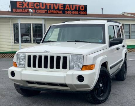 2006 Jeep Commander for sale at Executive Auto in Winchester VA