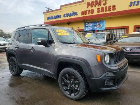 2017 Jeep Renegade for sale at Popas Auto Sales in Detroit MI