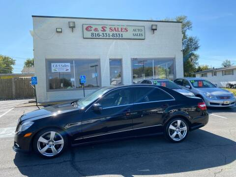 2011 Mercedes-Benz E-Class for sale at C & S SALES in Belton MO