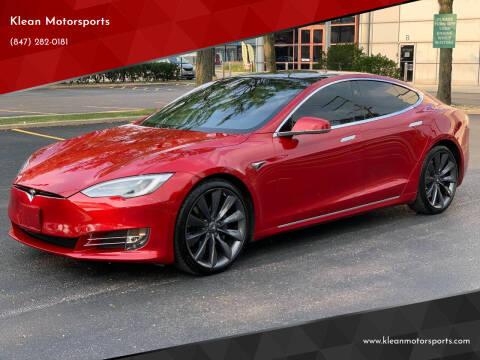 2017 Tesla Model S for sale at Klean Motorsports in Skokie IL