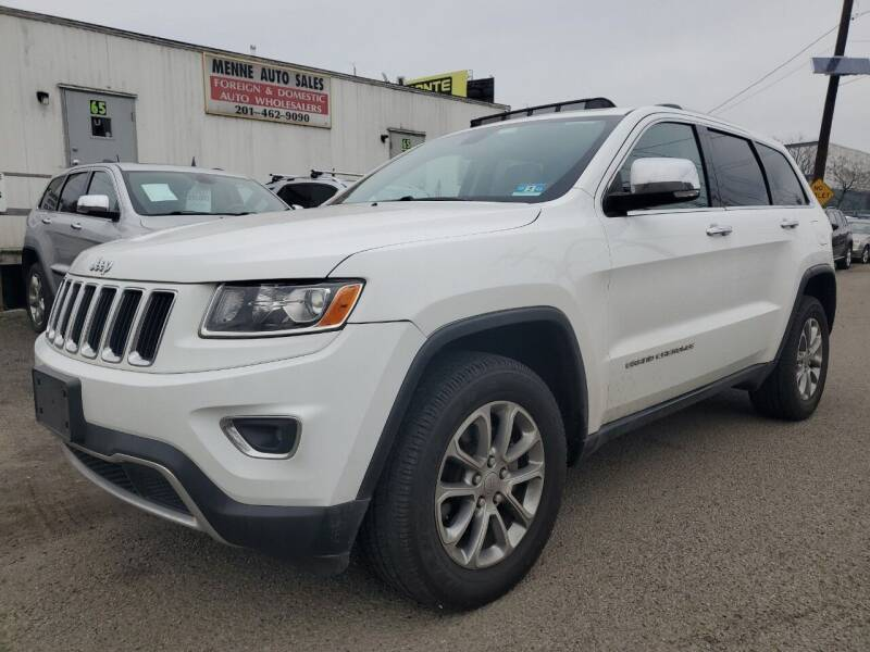 2015 Jeep Grand Cherokee for sale at MENNE AUTO SALES in Hasbrouck Heights NJ