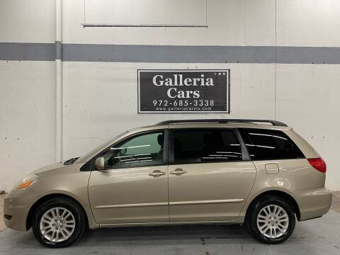 2009 Toyota Sienna for sale at Galleria Cars in Dallas TX