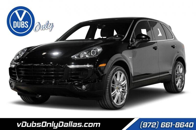 2016 Porsche Cayenne for sale at VDUBS ONLY in Dallas TX