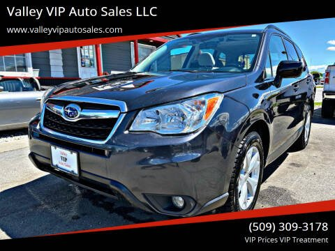 2016 Subaru Forester for sale at Valley VIP Auto Sales LLC in Spokane Valley WA