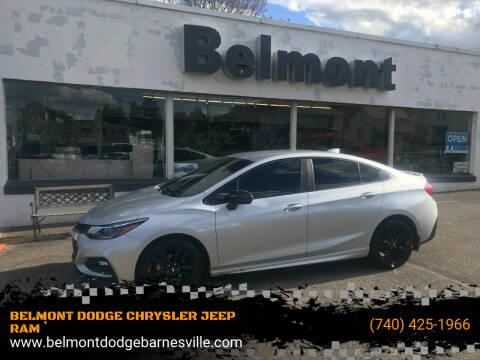 2018 Chevrolet Cruze for sale at BELMONT DODGE CHRYSLER JEEP RAM in Barnesville OH