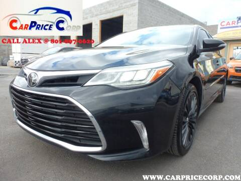 2018 Toyota Avalon for sale at CarPrice Corp in Murray UT