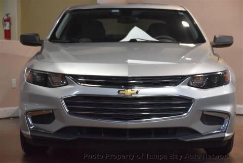 2016 Chevrolet Malibu for sale at Tampa Bay AutoNetwork in Tampa FL